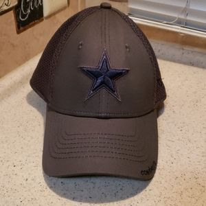 Dallas Cowboys NFL flex fit gray star hat